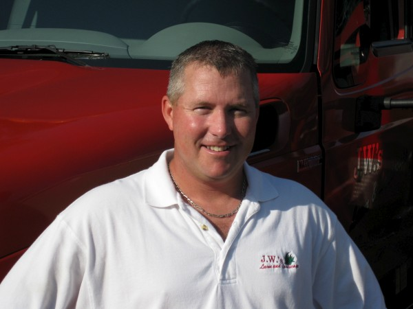 Joe Whitcomb, Owner of J.W.'s Lawn and Landscape